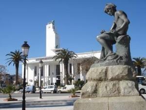 La statue du Pêcheur à Jijel (Algérie)