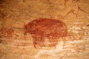 Tassili elephant Mastodon Algérie